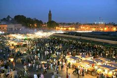 Marrakech - You have to have been there to believe the sounds and smells... Fascinating city and country