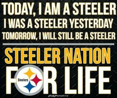 The best fan base in the league because they will always be a Steelers fan for life.  Awesome to always have people that agree with you about a team.