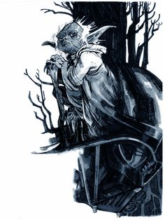 Star Wars - Yoda by Eric Canete