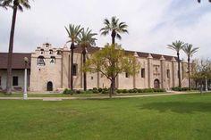 The Mission San Gabriel Arcángel is a fully functioning Roman Catholic mission and a historic landmark in San Gabriel, California. http://www.pilgrim-info.com/north-america/united-states/mission-san-gabriel-arcangel/