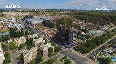 Vista aérea de la #TorreMixUseNQN en plena construcción. www.gtrneuquen.com.ar
