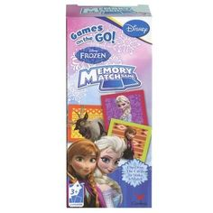 Disney Frozen Memory Match Game @ niftywarehouse.com #NiftyWarehouse #Frozen #FrozenMovie #Animated #Movies #Kids