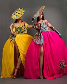 Ankara Fashion Dresses and jumpsuits for women These chic Ankara styles are perfect African Print Fashion ideas for the weekend. African Inspired Fashion, Latest African Fashion Dresses, African Print Dresses, African Print Fashion, Africa Fashion, African Dress, Women's Fashion Dresses, Fashion Prints, Ankara Fashion