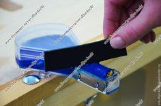 Ролик для нанесения краски на урез кожи - купить или заказать в интернет-магазине на Ярмарке Мастеров - AOEG7RU. Москва | Ручное приспособление для нанесения краски на…