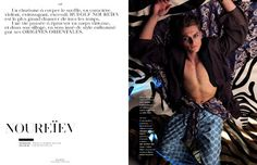 Vladimir Ivanov for Vogue Hommes - MM Scene : Male Model Portfolios : Male Models Online