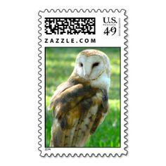 Barn #Owl Postage #Stamp $23.15  -20 stamps per sheet. -Choose from twelve postage denominations:
