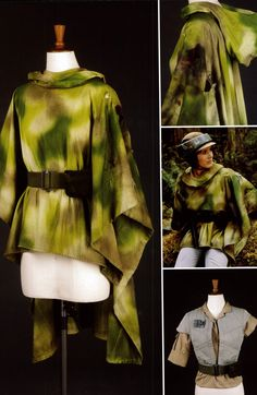 Leia endor costume - Google Search