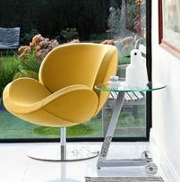 BoConcept Schelly chair & side table