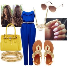 f569cbb68187 by jhanelmonet on Polyvore Cookout Outfit