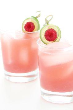 Raspberry Refresher - lime, mint, raspberries, gin and grenadine