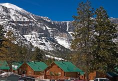 Mount Charleston Nevada  is located less than an hour's drive from the Las Vegas strip.