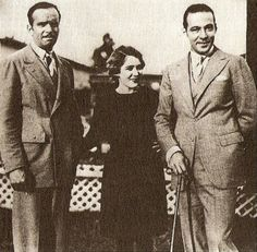 Douglas Fairbanks, Mary Pickford, and Rudolph Valentino, 1920s