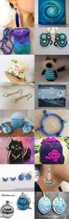 Blue collection by Kate Zatserkovna on Etsy--Pinned+with+TreasuryPin.com
