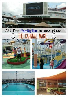 Activties on Carnival Magic w Sparkles and a Stove Great info if you're considering cruising with your family. Best Cruise, Cruise Tips, Cruise Travel, Cruise Vacation, Vacation Trips, Carnival Cruise Ships, Carnival Breeze, Spring Break Vacations, Family Cruise
