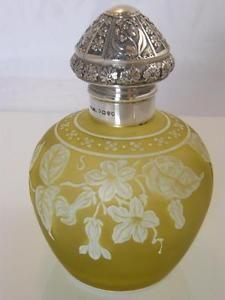 thomas webb cameo perfume bottle