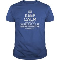 Awesome Tee For Wireless Care Representative T-Shirts, Hoodies. CHECK PRICE ==► https://www.sunfrog.com/LifeStyle/Awesome-Tee-For-Wireless-Care-Representative-Royal-Blue-Guys.html?id=41382