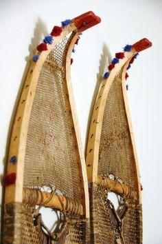 Museum Exhibit Rental 1 - Indigenous Snowshoe Collection from VintageWinter