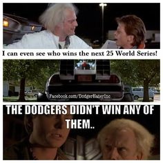 Baseball Memes, Back To The Future, World Series, I Can