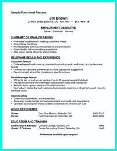 nice cocktail server resume skills to convince restaurants or caf check more at http