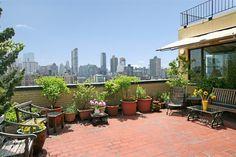 New York City Boroughs ~ Manhattan   40 West 77th Street (Central Park West and Columbus Avenue) terrace