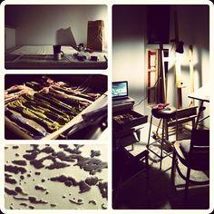 Katie Bruce's Studio Space, 2012