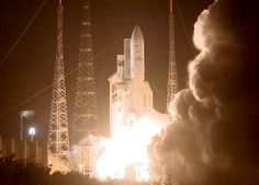 On March 22, 2014, an Ariane 5 rocket flight launched from Europe%u2019s spaceport in French Guiana on a mission to place two telecom satellites, Astra-5B and Amazonas-4A, into orbit.