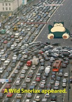 a wild pokemon appears | wild snorlax appeared | Tumblr