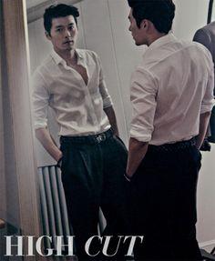 하이컷 - 패션, 뷰티, 대중문화 커뮤니티와 다채로운 이벤트 <HIGH CUT>  Hyun Bin