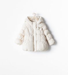 ZARA - KIDS - QUILTED JACKET WITH A BOW