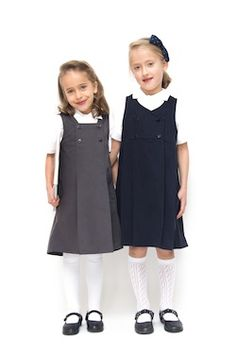 In Search of Sustainable School Uniform Girly Girl Outfits, Cute Little Girl Dresses, Kids Outfits, Baby Outfits, Stylish Toddler Girl, Toddler Boy Fashion, Kids Fashion, School Uniform Outfits, School Dresses