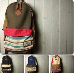 Large capacity travel bag , messenger bags , Student Canvas Backpack Leisure Packs ,IPAD Bag , Laptop Backpack Bag, Cotton canvas bag