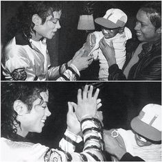 MJ high five