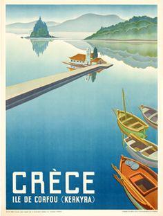 Vintage advertisement - Greece