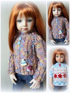 "R M Dollfashion Casual Line 2 Knit Sweaters for Effner Maru and Friends 20"" Doll | eBay"
