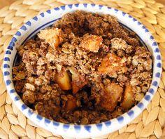 Met dit recept voor Glutenvrije Apple Crumble zonder geraffineerde suikers heb je guilt-free comfort food voor op een koude winteravond. Bekijk het recept
