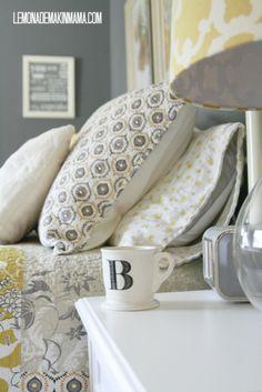 I love the sheets// from Lemonade Makin' Mama