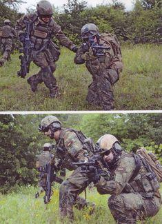 Bundeswehr /EGB-Kräfte FschJgBtl 373