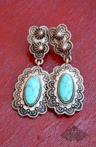Comanche Copper Earrings
