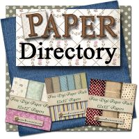 Free scrapbook paper...download a ton of digital papers. Great website! Will come in handy when designing greeting cards!