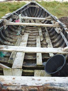 Wooden Curach : Traditional Irish Boat
