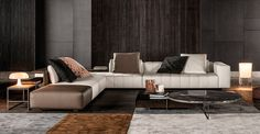 FREEMAN TAILOR SOFA - Designer Sofas from Minotti ✓ all information ✓ high-resolution images ✓ CADs ✓ catalogues ✓ contact information ✓ find. Sofa Design, Design Hall, Flur Design, Canapé Design, Deco Design, Interior Design, Milan Design, Furniture Styles, Sofa Furniture