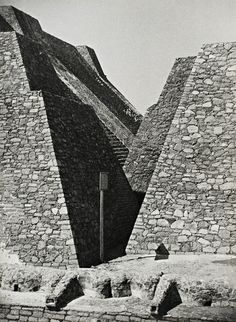 Brutal constellation … Josef Albers took this picture of the great pyramids of Tenayuca around 1940. Photograph: Josef Albers/The Josef and Anni Albers Foundation/Artists Rights Society/Dacs