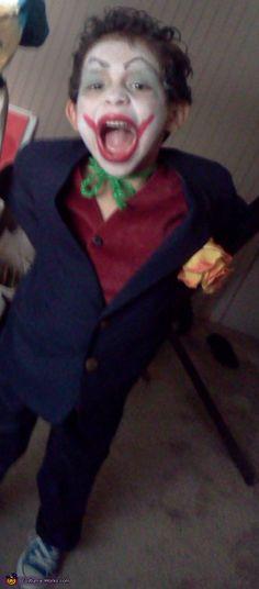 M s de 25 ideas incre bles sobre disfraz de joker en - Disfraz joker casero ...