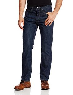 """Lee Men's Premium Select Classic Fit Straight Leg Jean, Taurus, 32W x 32L:   Straight-leg jean in classic fit featuring zip fly with button and five-pocket styling  Active Comfort, exclusively from Lee, features premium fabric that's more flexible, softer, and stronger  Leg opening: 16.5"""""""