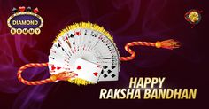 DiamondRummy wishes you a Happy RakshaBandhan www.diamondrummy.com
