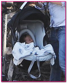 Sara Gilbert & Linda Perry Out For A Stroll With Baby Rhodes