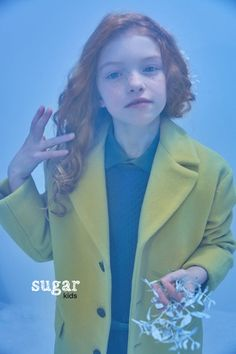 Sara from Sugar Kids for MilK Magazine by Nariz de Payaso.