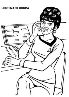 1000 images about print this on pinterest coloring for Star trek coloring pages