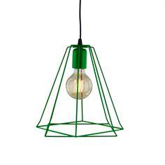 Suspensão SURAT VERDE Decor, Lamp, Light, Lighting, Ceiling, Pendant Light, Home Decor, Ceiling Lights