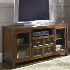 "Hammary Mercantile TV Stand; 28"" H x 54"" W x 18"" D;  $662"